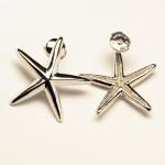 Boucles d'oreilles étoiles de mer